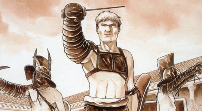 Des auteurs BD dessinent les gladiateurs