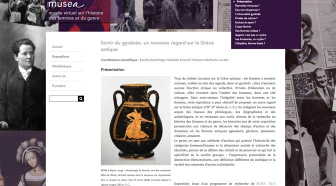 Sortir du gynécée, un nouveau regard sur la Grèce antique