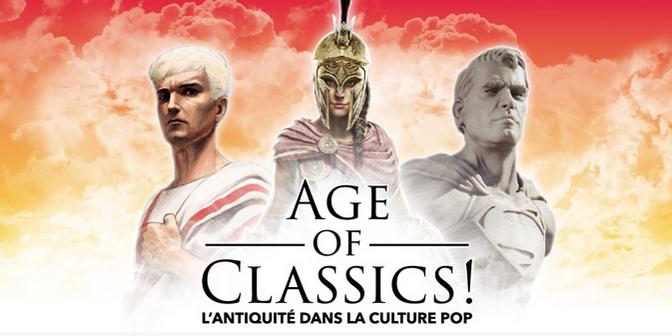 Age of Classics ! L'Antiquité dans la culture pop – l'interview