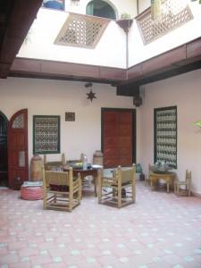 Maison d'hôte, Marrakech (E. Coslado, 2008)