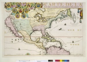 North and Central America. Nicolas de Fer (1713). GE C 24281 (RES) BNF, Cartes et plans.