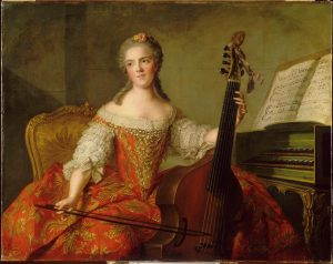 Madame Henriette de France (1721-1752), Jean-Marc Nattier (1685-1766). Versailles, châteaux de Versailles et de Trianon, MV4455.