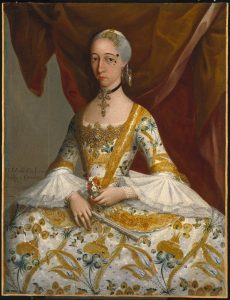 Miguel Cabrera (Mexican, 1695-1768). Doña María de la Luz Padilla y Gómez de Cervantes, ca. 1760. Oil on canvas, 43 x 33 in. (109.2 x 83.8 cm). Brooklyn Museum, Museum Collection Fund and Dick S. Ramsay Fund, 52.166.4