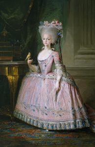 Infanta Carlota Joaquina, 1785, Mariano Salvador Maella (1739-1819), oil on canvas, 177x116 cm, Madrid, Museo del Prado, PO2440, www.museodelprado.es