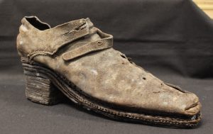 Male Shoe, Leather, 17th century, Museum of Copenhagen