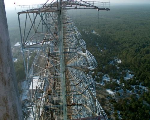 Duga 3, aux environs de Tchernobyl