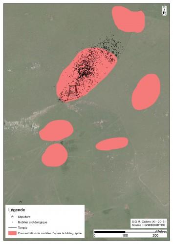 Carte Mathonière prospection geoph ortho