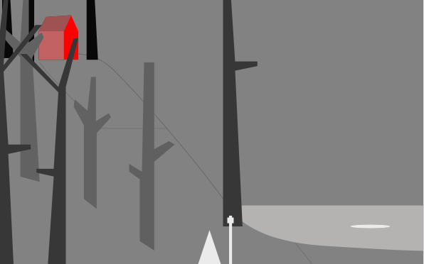 Louer une cabane au fond des bois : une fausse bonne idée