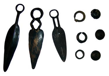 Ensemble des objets attribuable au dépôt de Quartier de Glaisette à Veynes conservés au Musée de Gap.