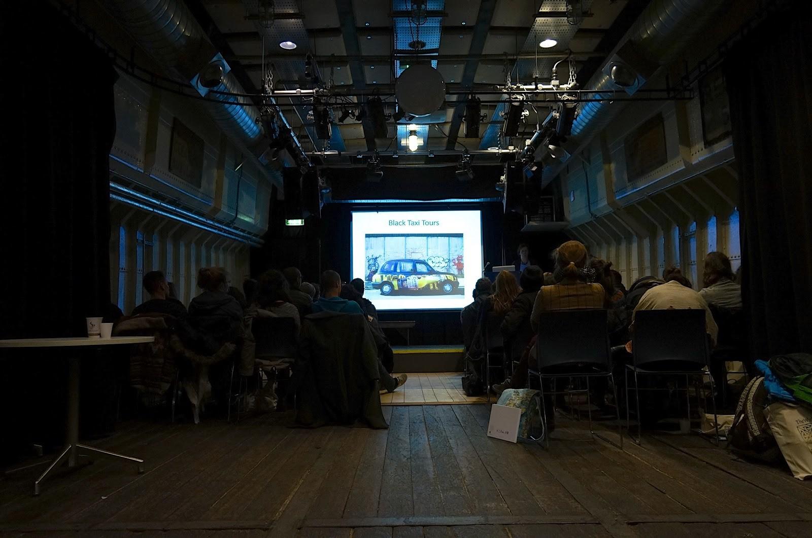 Clémence Lehec, 2016, Conférence sur le tourisme à Belfast, Belfast Barge.