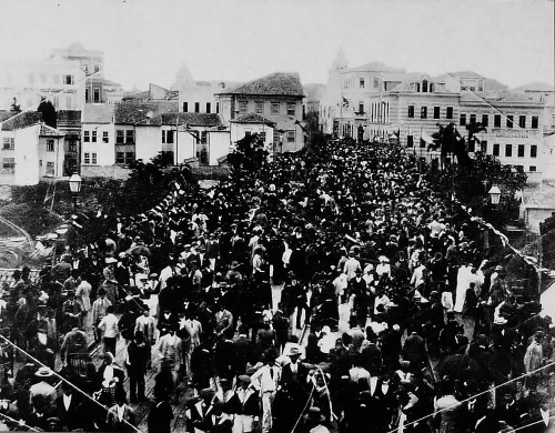 1890 Inauguração do Viaduto do Chá