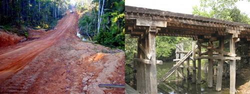Route et pont