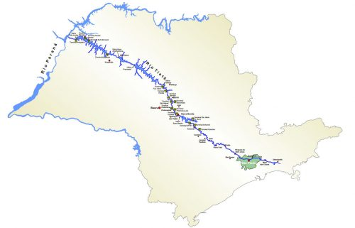 Mapa Rio_Tiete