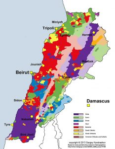 Un Liban multiconfessionnel