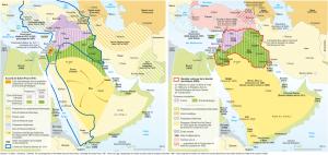 Le Moyen-Orient des accords Sykes-Picot