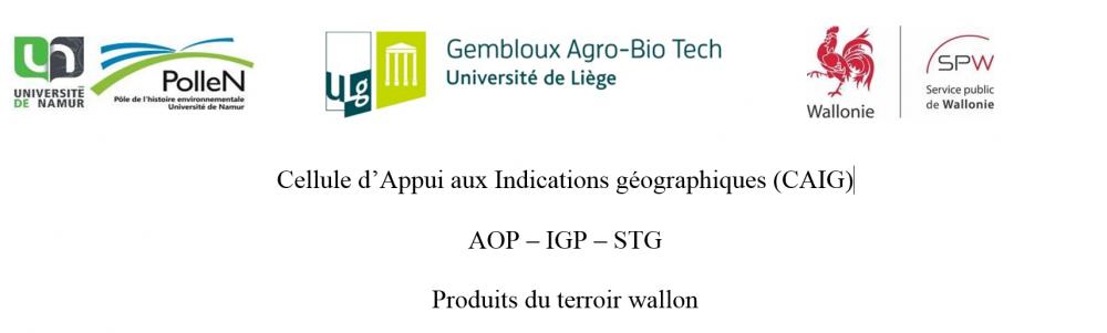 Cellule d'appui aux indications géographiques (CAIG) – AOP, IGP, STG