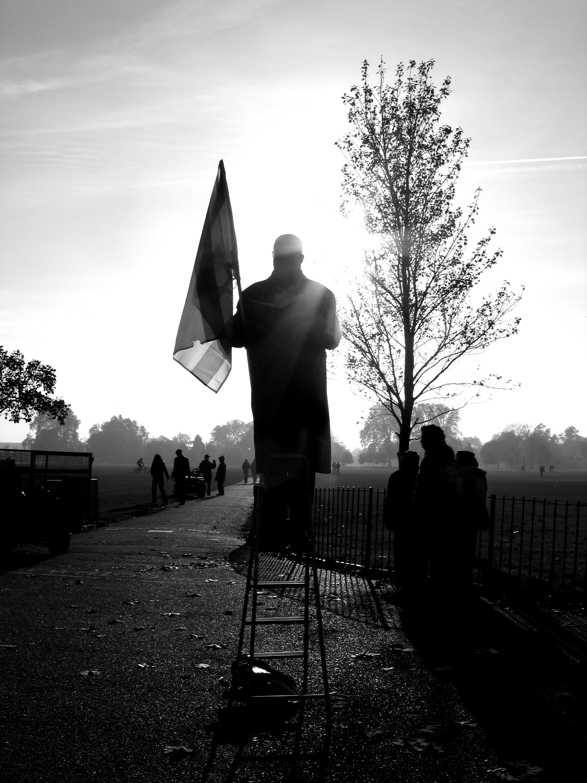 2005-11-20 - United Kingdom - England - London - Hyde Park - Speakers' Corner