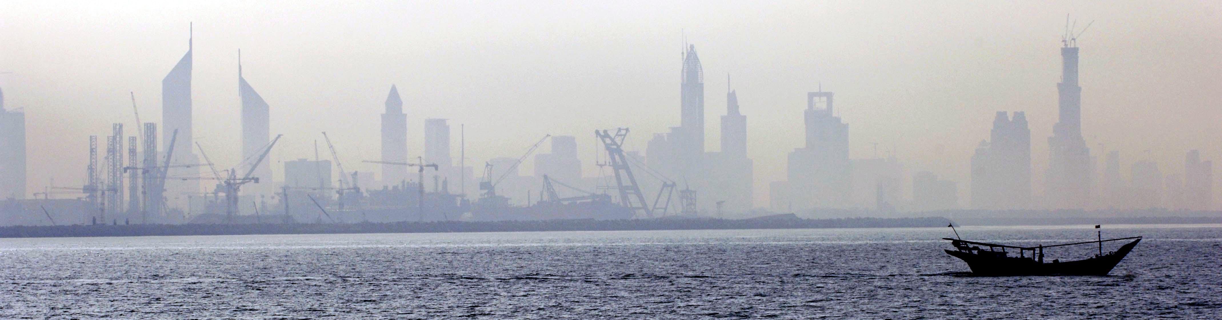 The Dubai skyline, c. Matthew D. Leistikow