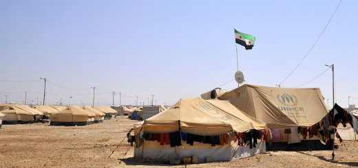 The Zaatari Refugee Camp in Jordan, c. English Foreign and Commonwealth Office