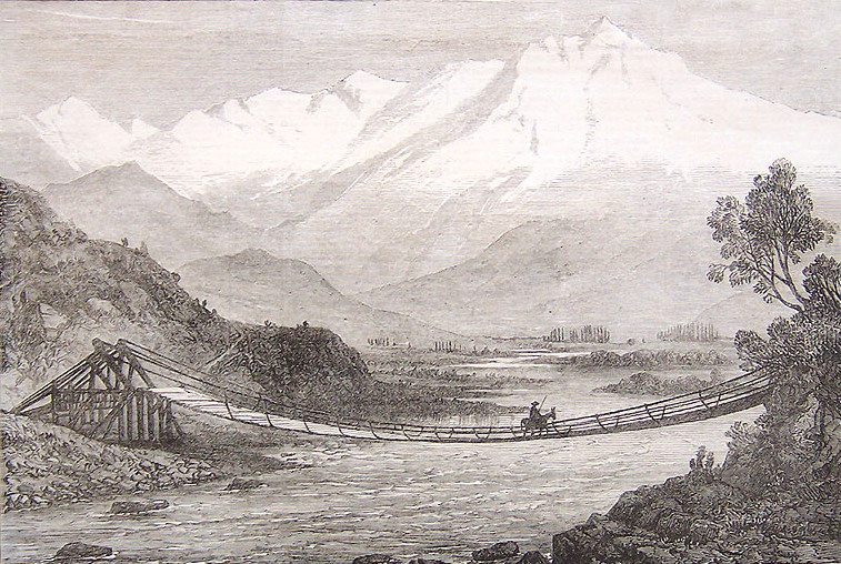 The Valley of the Aconcagua, c. The Illustrated London News