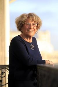 Portrait d'Amy Dahan mathématicienne et historienne des sciences française, directrice de recherche émérite au CNRS chez elle à Paris le 26/11/2015 Photo Jean-Christophe MARMARA/Le Figaro