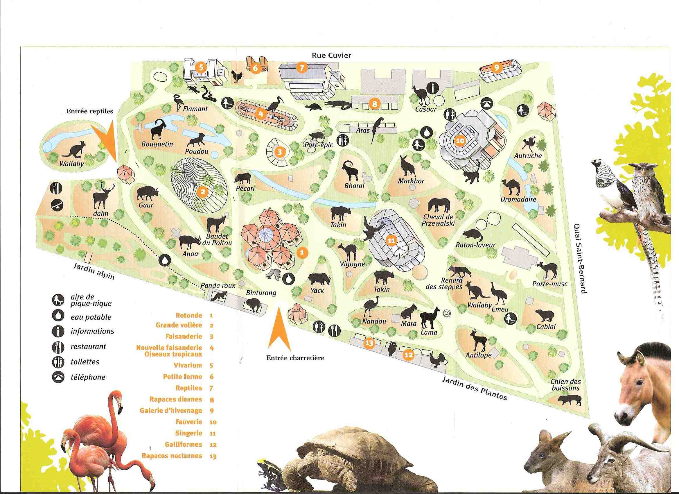 Animots conf rence de jacques rigoulet animots for Animalerie du jardin des plantes