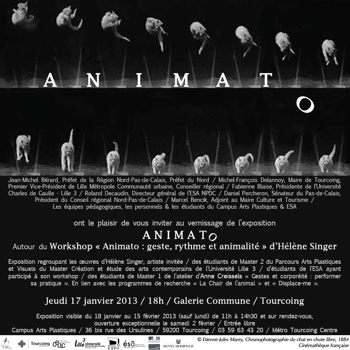 Animato invitation Mail