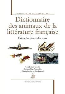 COUV Dictionnaire des animaux