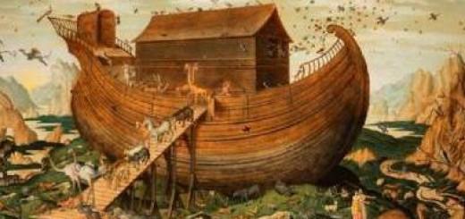 Simon de Myle, L'Arche de Noé sur le Mont Ararat