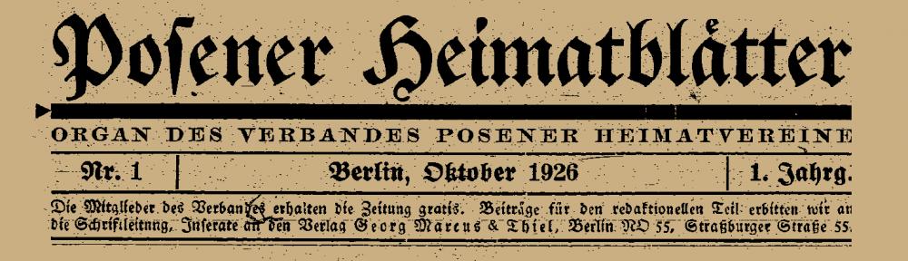 Posener Heimat deutscher Juden