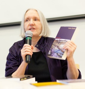 Die Soziologin Saskia Sassen (Quelle: Strelka Institute for Media, Architecture and Design from Moscow, Russia - flickr: Questions & Answers with Saskia Sassen, CC BY 2.0)
