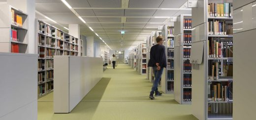 Die Campusbibliothek an der Freien Universität. Bildquelle: Bernd Wannenmacher