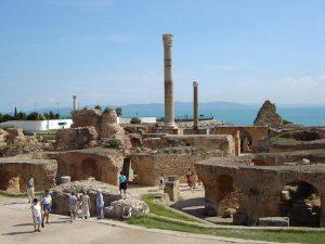 Reste einer römischen Therme in Karthago. Foto: BishkekRocks, gemeinfrei