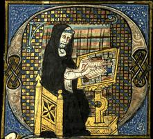 Paris, Bibliothèque de la Sorbonne, ms. 53, f. 1.