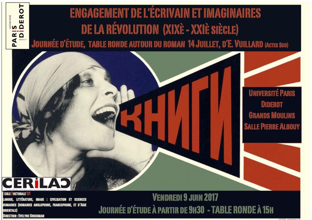 Engagement de l'écrivain et imaginaires de la Révolution