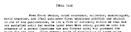 Tunnels & Trolls 1st ed. (p. 4)