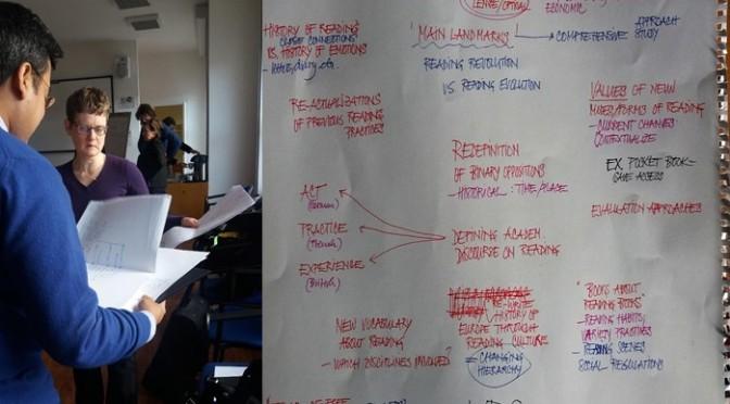 """""""Writing camp"""" du réseau de recherche sur la lecture EU-RED"""