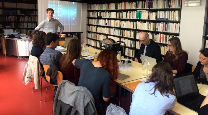 Cas limites. Journée d'études doctorale avec la participation de Sabine Arnaud