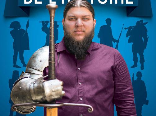 """Benjamin Brillaud (Nota Bene) met un pied dans le domaine littéraire avec """"Les pires batailles de l'Histoire"""","""