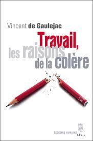 Travail, les raisons de la colère -  Vincent de Gaulejac
