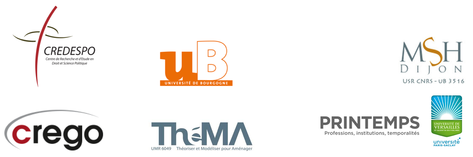 logos des laboratoires partenaires