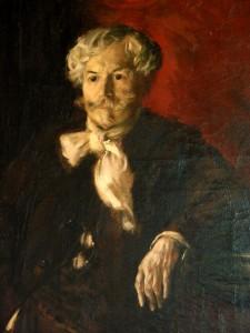 Portrait d'Edmond de Goncourt (1888) par Jean-François Raffaëlli (1850-1924), musée des Beaux-Arts de Nancy.