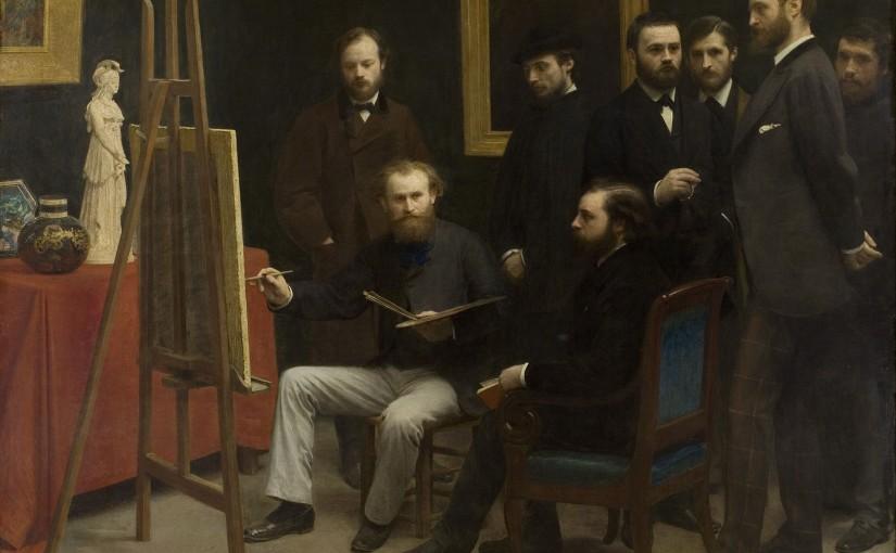 """Maizeroy et Manet – Remarques sur René Maizeroy, """"Chez Manet"""", Gil Blas, 11 janvier 1882."""