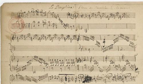 La Dauphine (manuscrit autographe)