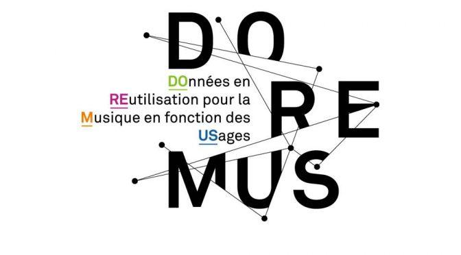 ANR DOREMUS : données en réutilisation dans le domaine de la musique en fonction des usages