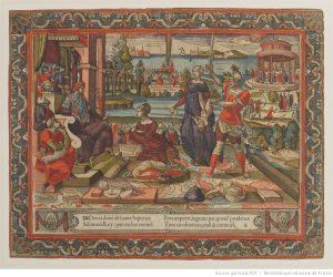 [Jugement de Salomon], [Paris] : [publié par Germain Hoyau], [vers 1560]