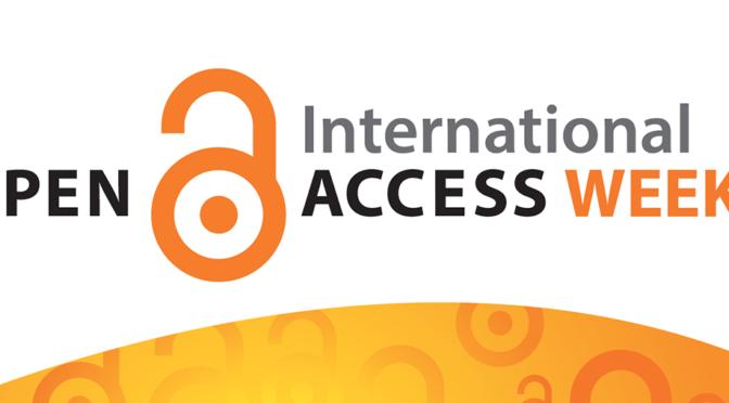 Open Access Week 2018 : Open Access et sciences humaines : quelles transformations des pratiques de recherche ?