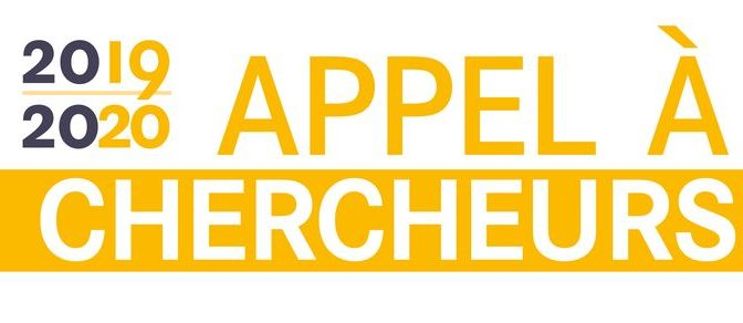 Appel à chercheurs 2019-2020 de la Bibliothèque nationale de France
