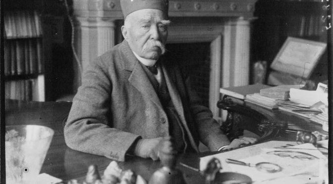 Après-midi d'étude : Clemenceau et la Culture : d'une bibliothèque à l'autre
