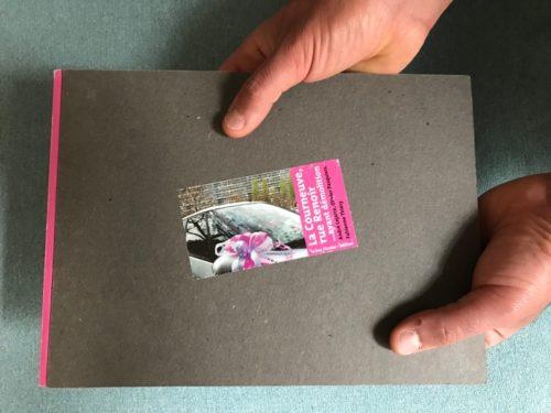 Auto-édition, André Lejarre, Olivier Pasquiers, La Courneuve rue Renoir, avant démolition, réalisé par l'atelier de conception graphique Nous Travaillons Ensemble, Paris, bar Floréal.éditions, 2000.